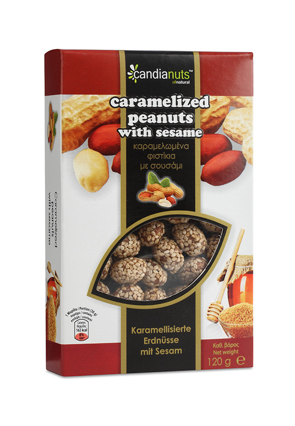 Caramelized-Peanuts-coated-with-Sesame