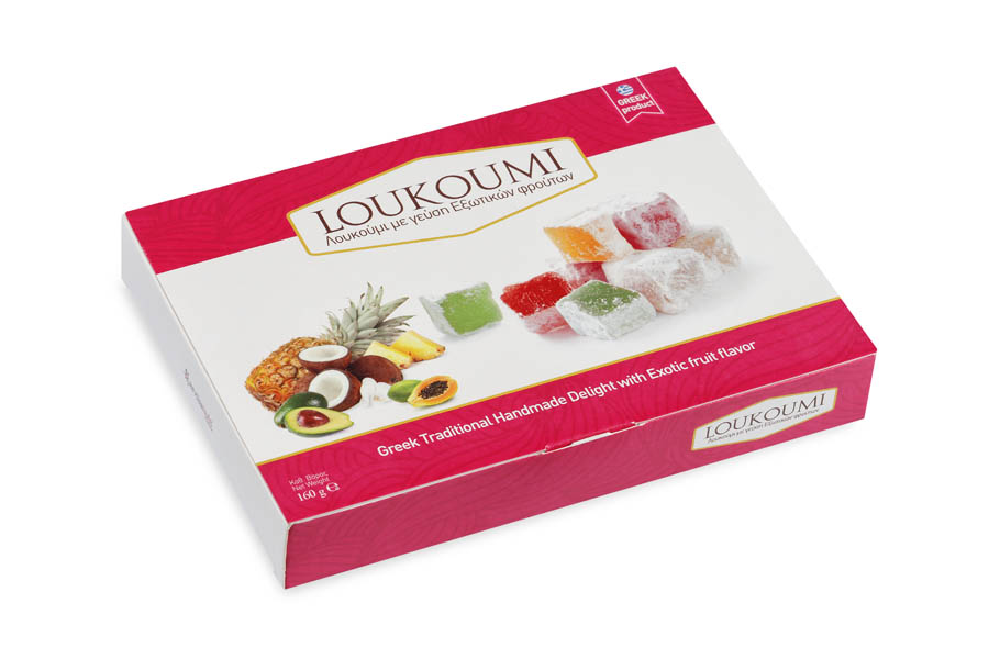 Loukoumi Exotic fruits