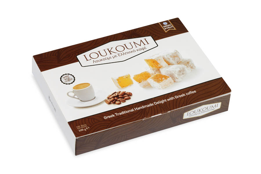Loukoumi Greek coffee