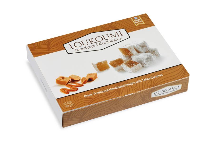 Loukoumi Toffee caramel