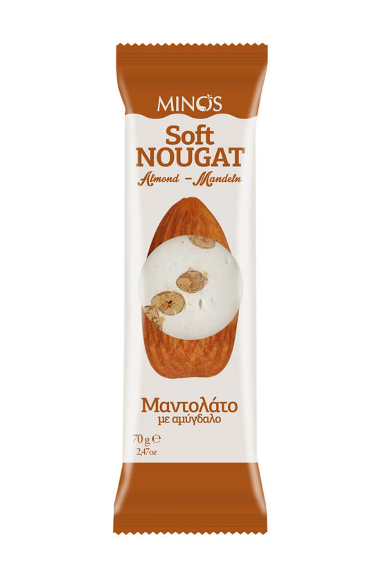 Almond - Soft Nougat Bar