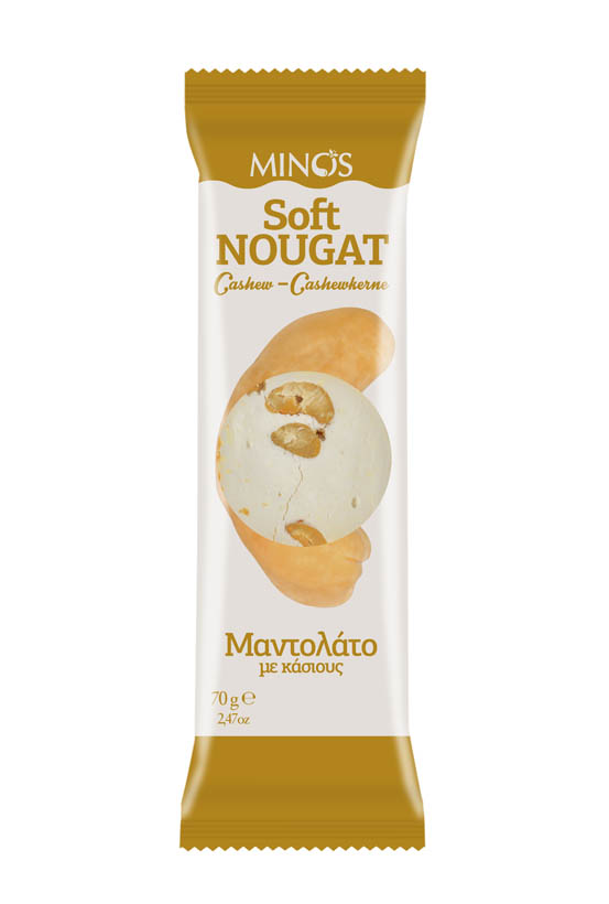 Cashew - Soft Nougat Bar
