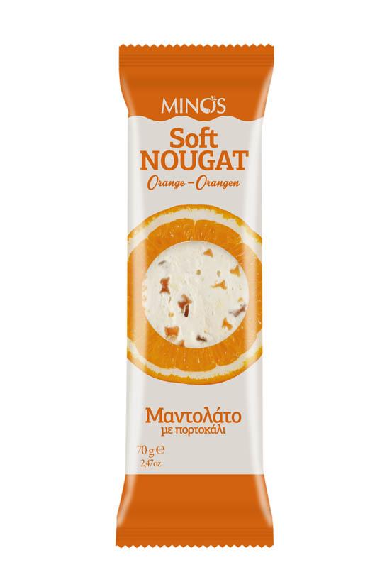 Orange mantolato - Soft Nougat Bar