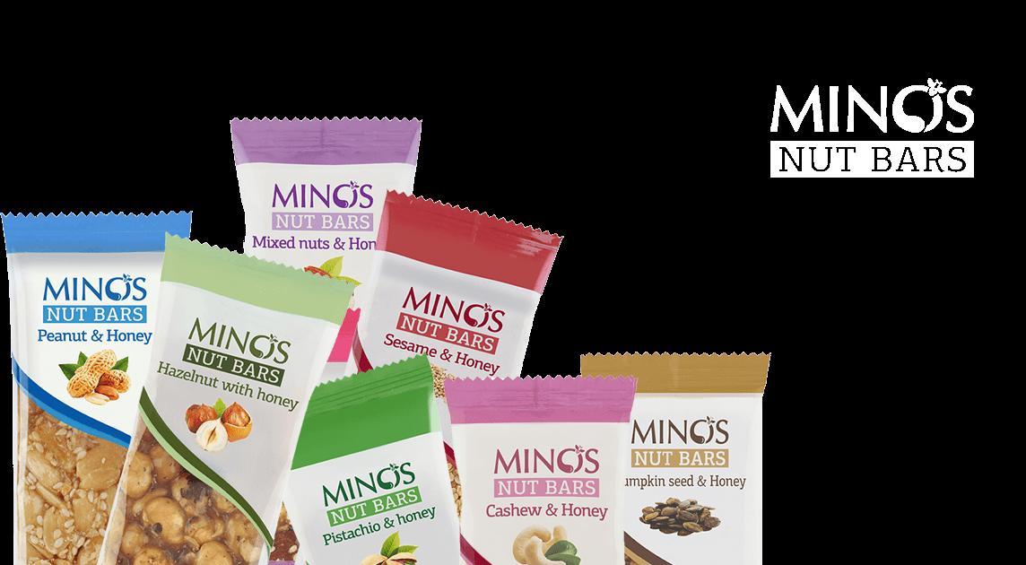 Minos Nuts bars