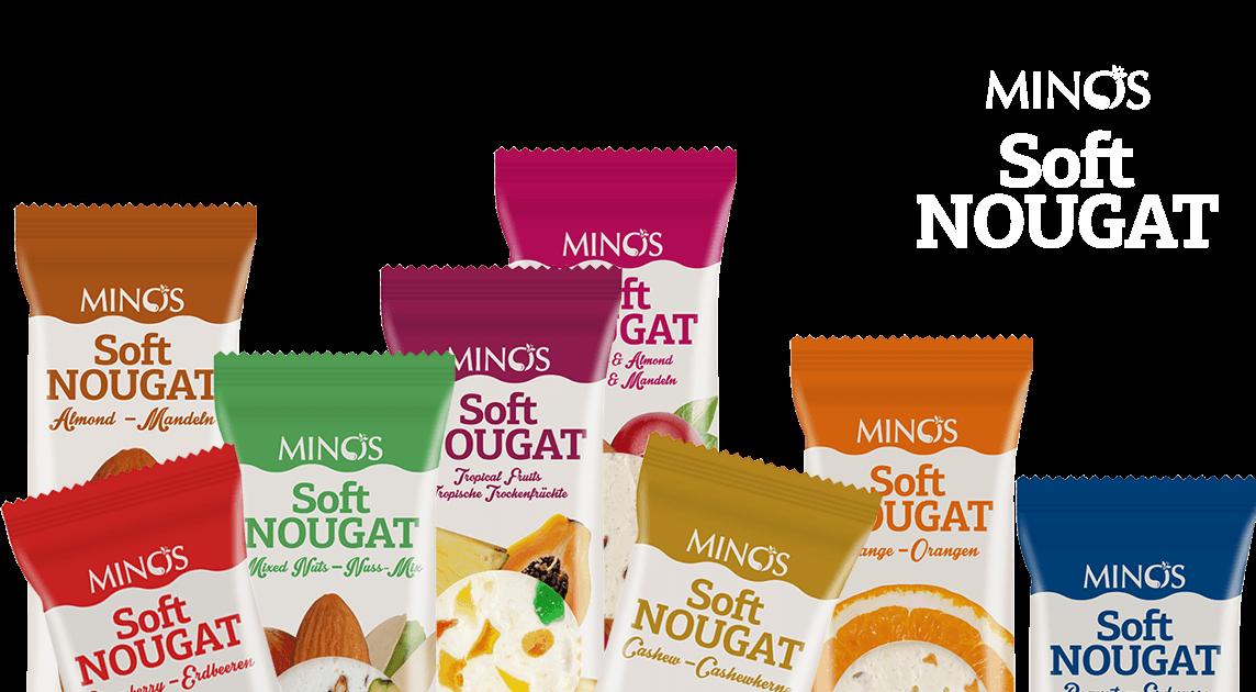 Soft Nougat Bars