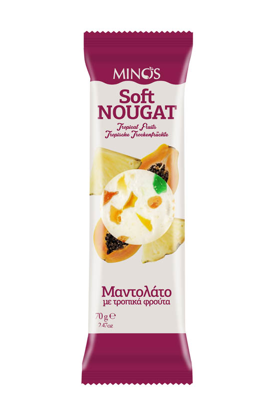 Tropical Fruit - Soft Nougat Bar